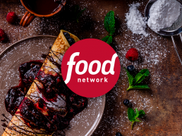 food network logo clients